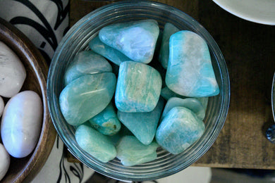 Russian Amazonite (Tumbled)