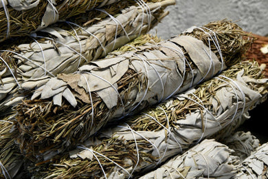 Rosemary + Sage Smudge Stick (Large)