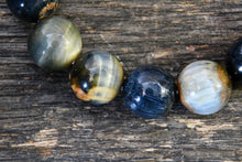 Blue Tiger's Eye Bracelet (12mm)
