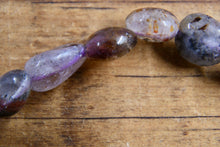 Super 7/Sacred 7 Amethyst Cacoxenite (Pebble) Bracelet