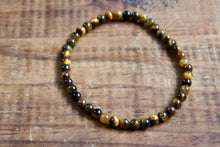 Gold Tiger's Eye Bracelet (4mm)