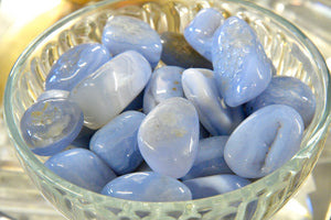 Blue Lace Agate (Tumbled)