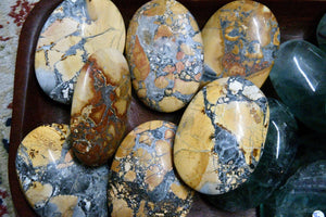 Maligano (Indonesian) Jasper Palm Stone