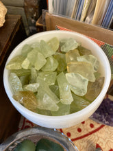 Green Calcite Grade A (Raw)