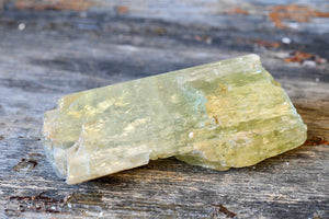Hiddenite/Green Kunzite (Grade A) Specimen