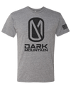 Heather Grey Grand Tee - Dark Mountain