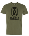 Military green Grand Tee - Dark Mountain