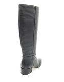 Segio 075 Knee high black boots