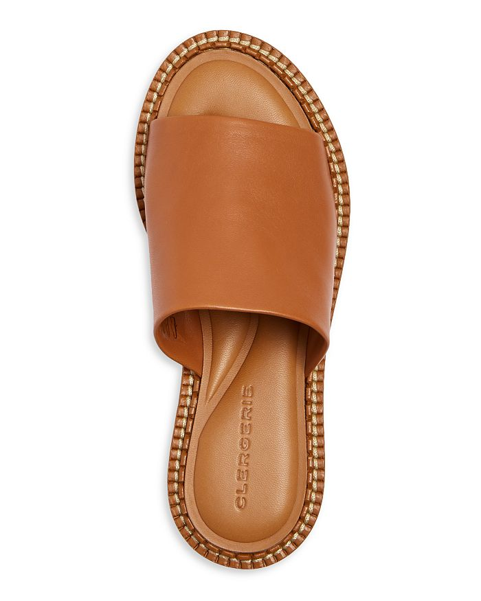 Tan Fast slip-On Sandals