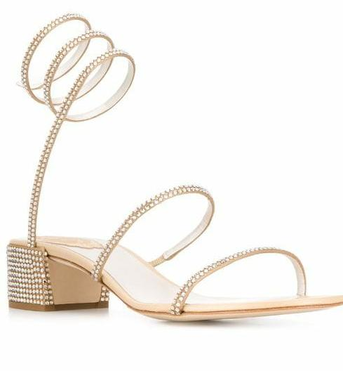 Cleo Golden Beige Sandals