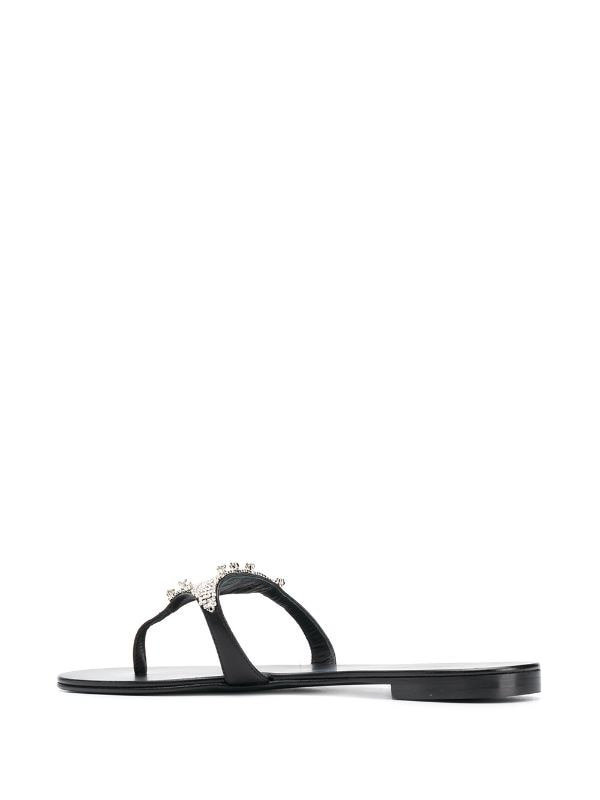 Rock 10 Crystal Sandals