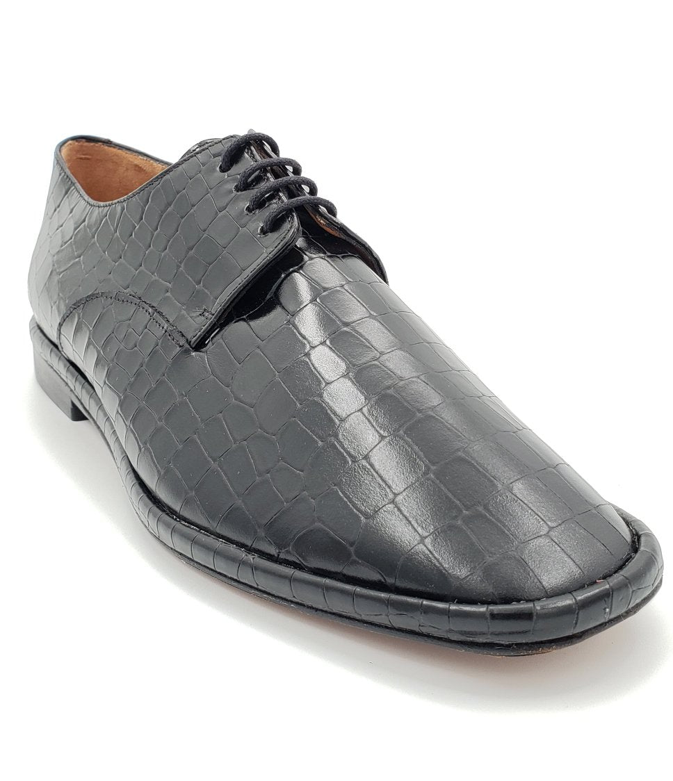 Odyssec croc-Embossed Oxford