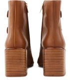Xina Tan Ankle Boots