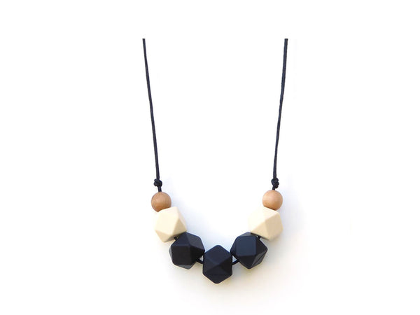 Lollia Wood + Silicone Necklace Teether