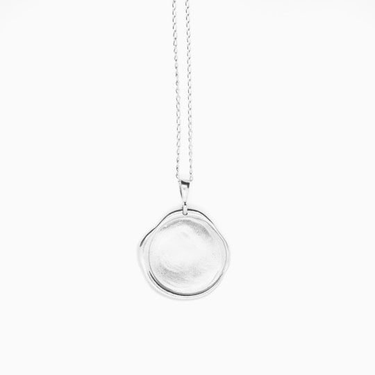 No.2 Necklace Silver