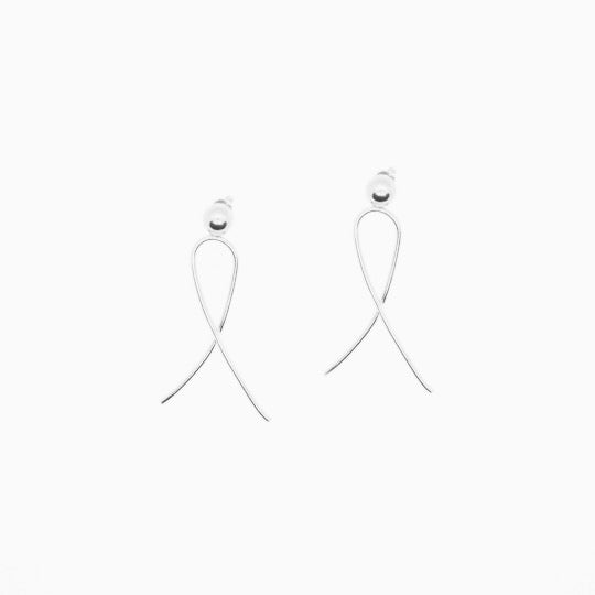 The Mini Radiant Earrings Silver
