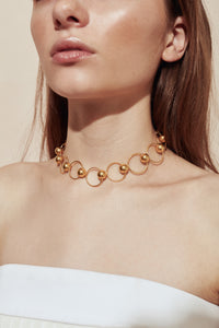 The Eliza Choker Gold