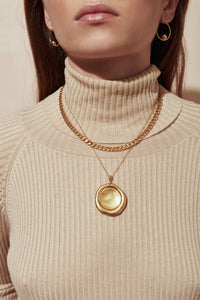 No.1 Necklace Gold