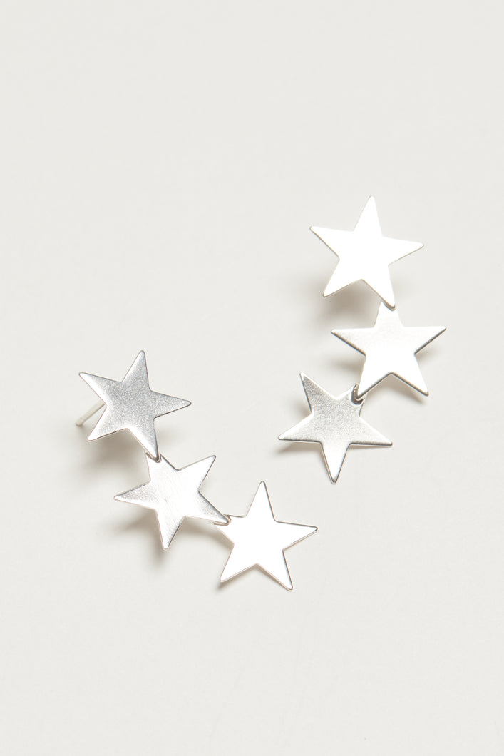 The Clair Studs - Silver