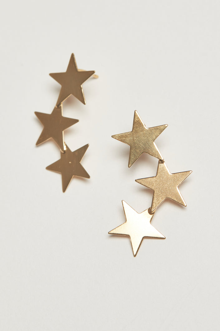 The Clair Studs - Gold