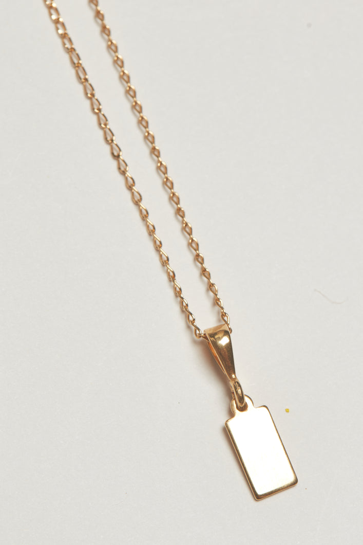The Belarus Necklace - Gold