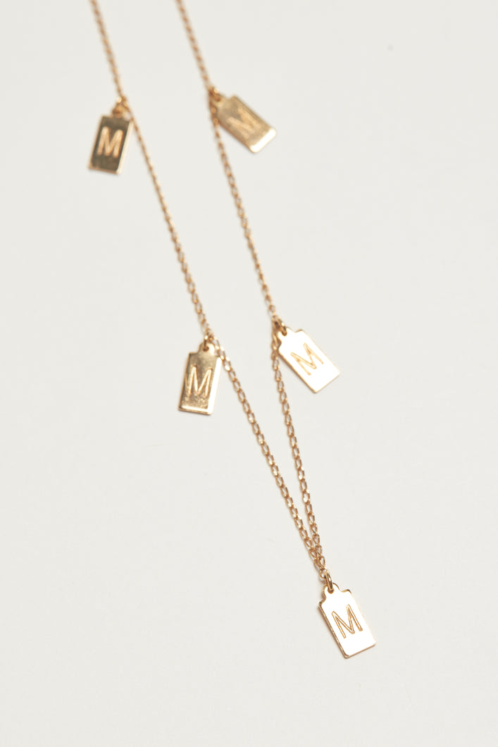 The Paradou Necklace - Gold