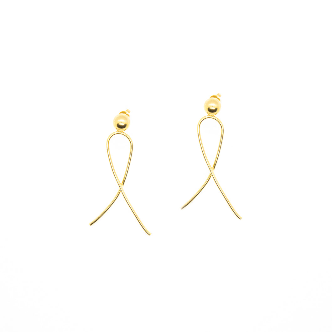 The Mini Radiant Earrings Gold