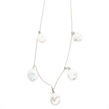 The Multi Pearl Necklace Silver
