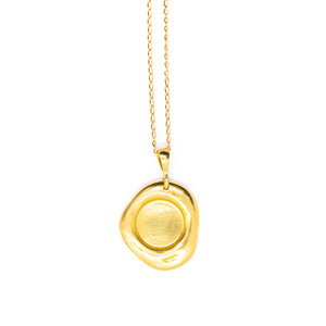 No.3 Necklace Gold