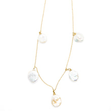 The Multi Pearl Necklace Gold