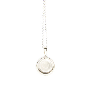 No.4 Necklace Silver