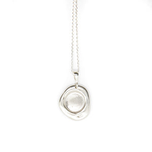 No.3 Necklace Silver