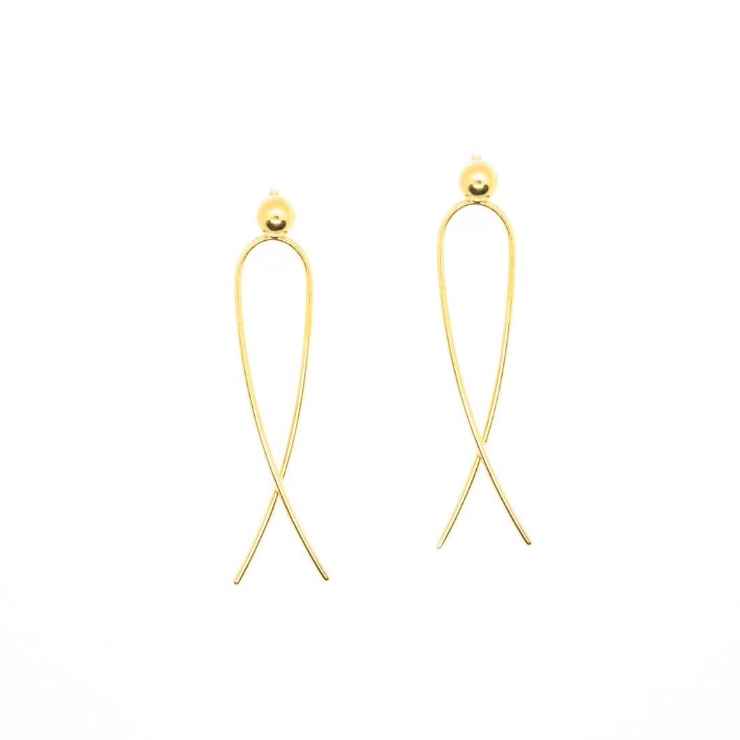 The Radiant Earrings Gold