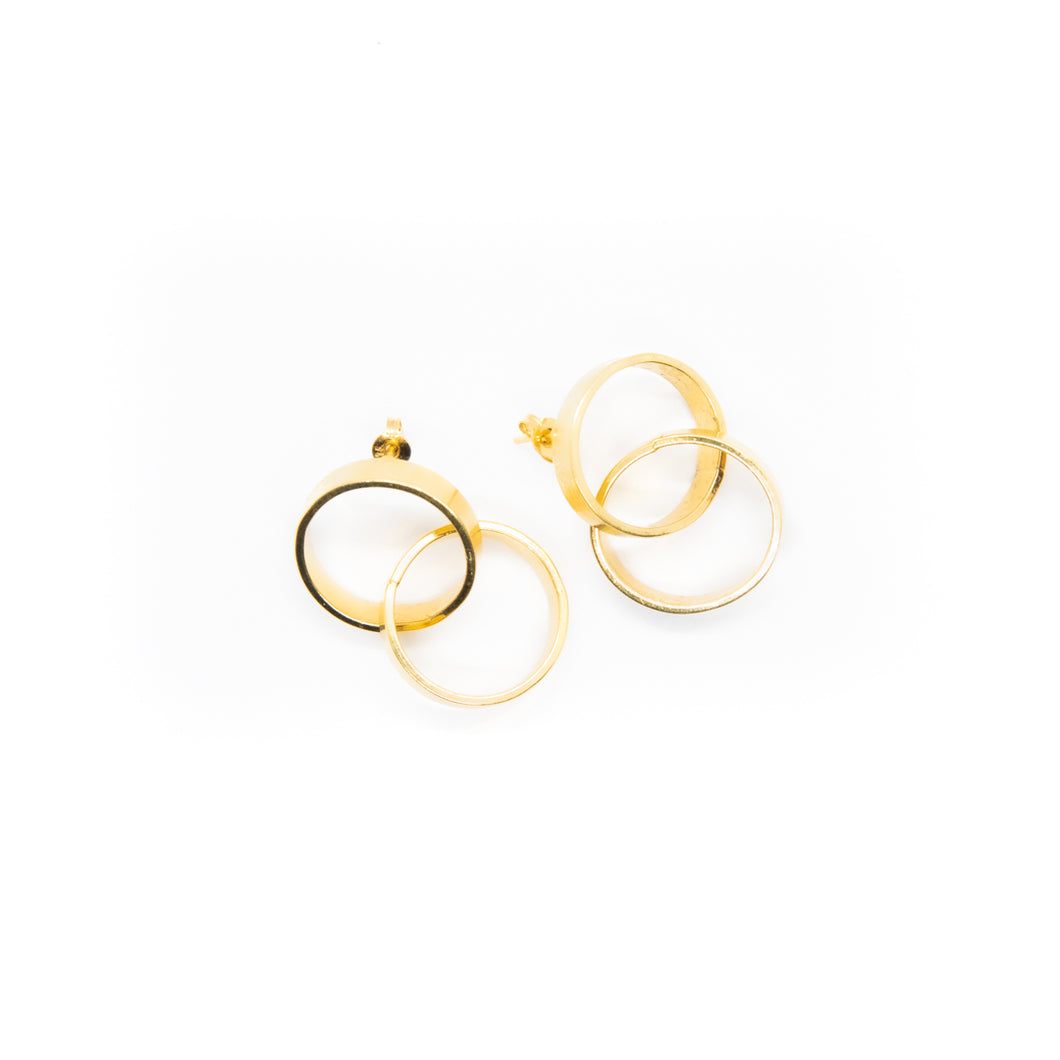 The Luminance Earrings Gold