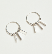 The Saint Remy Hoops - Gold & Silver