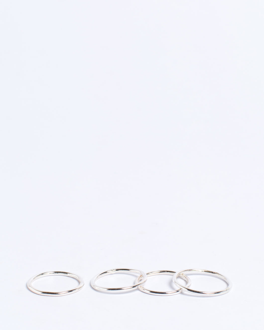 Stacker Rings Silver