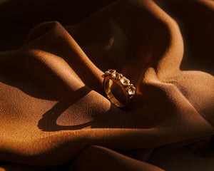 The Bloom Ring Gold