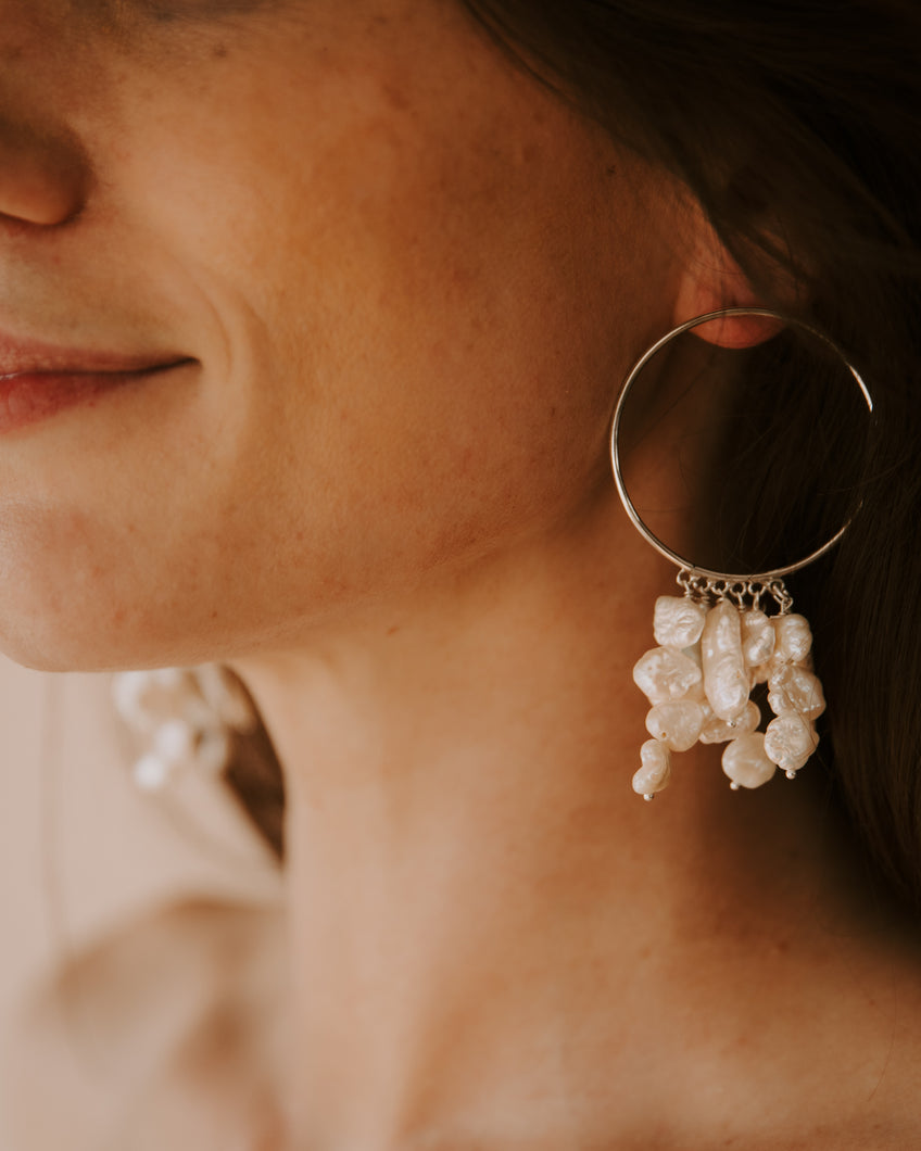 The Bloom Earrings Silver
