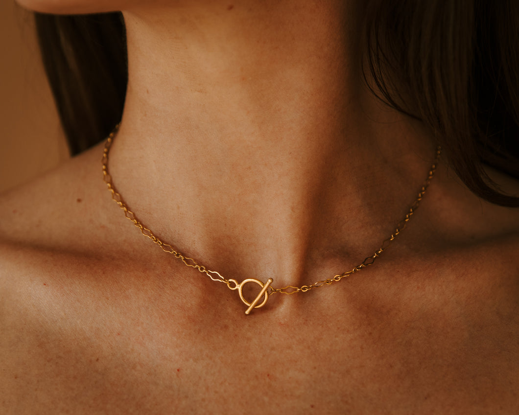 The Matilda Choker Gold