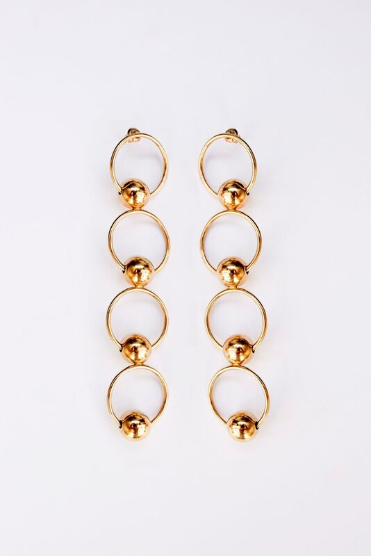 The Eliza Earrings - Gold
