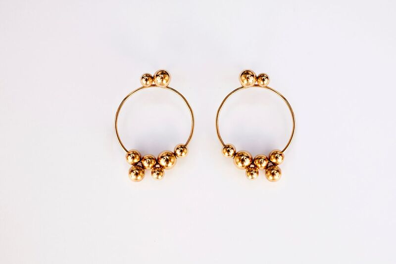 The Monaco Hoops - Gold