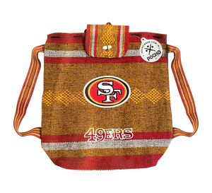 San Francisco 49ers Backpack - Reusable Goodie Bag