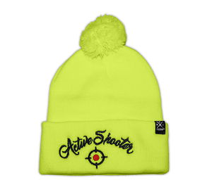 Active Shooter Beanie hat