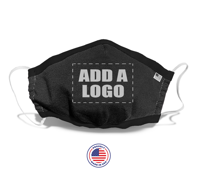 ADD A LOGO - FACE MASK COVER