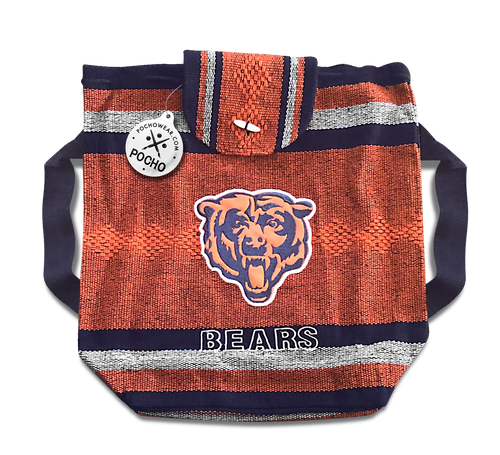 Chicago Bear Backpack - Reusable Goodie Bag