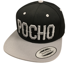 "Pocho ""Silver and Black Blocks""  Hat"