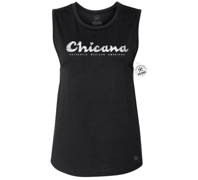 Chicana Campeon- Womens Muscle Tank