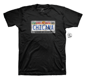 Chicana Identity Blinged out Mens Tee