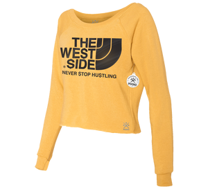 The West Side Cropped Crew Sweatshirt