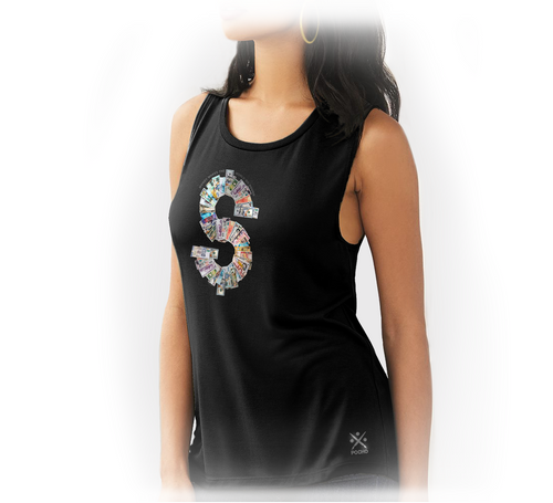 Currency Exchange - Womens Muscle Tank